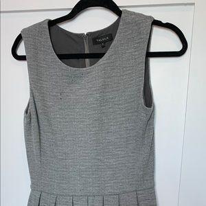 Pleated sleeveless dress